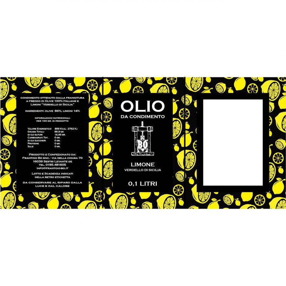 olio aromatizzato limone