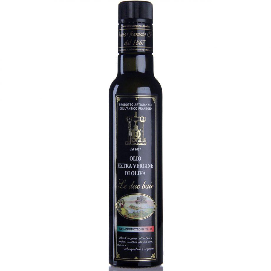 """olio extravergine di oliva """"Le due baie"""" - formato 0,25lt"""