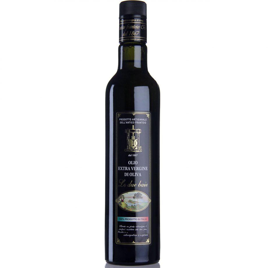 """olio extravergine di oliva """"Le due baie"""" - formato 0,5lt"""