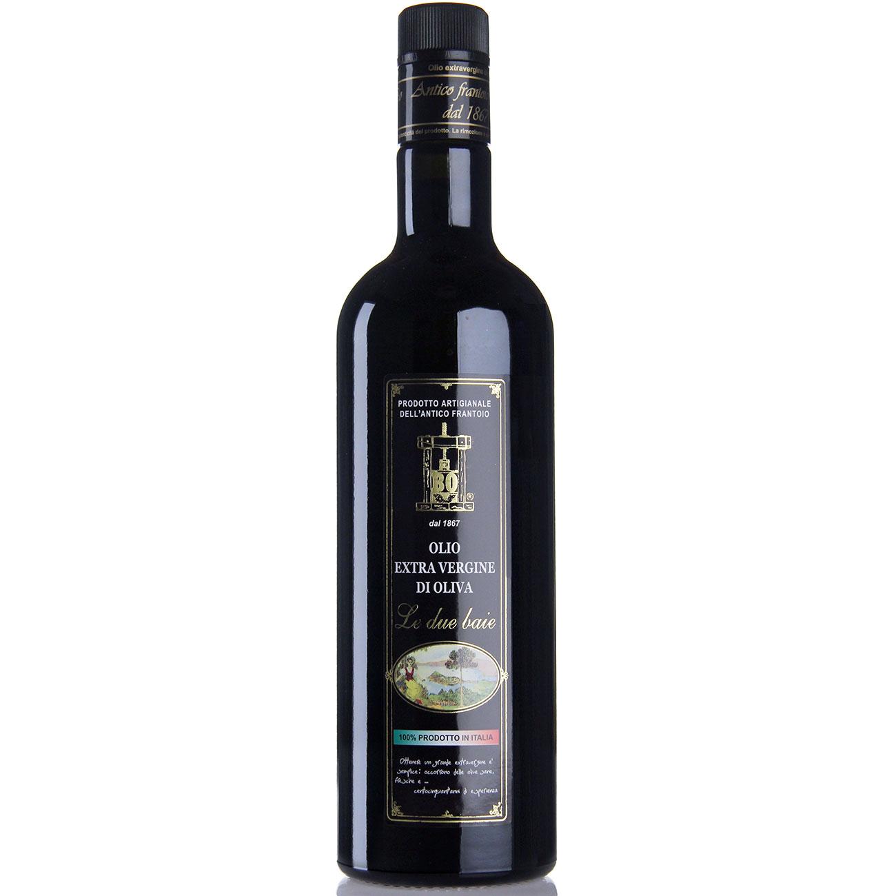 """olio extravergine di oliva """"Le due baie"""" - formato 0,75lt"""